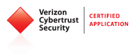 Verizon Cybertrust Security Certified Logo;